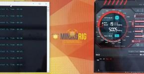 Gigabyte GTX 1080 Ti Ethereum Mining Hashrate Default Clocks