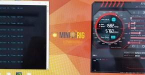 Gigabyte GTX 1080 Ti Ethereum Mining Hashrate Overclock