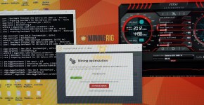 MSI GTX 1080 Ti NiceHash Benchmark 1