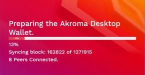 Akroma Wallet Sync