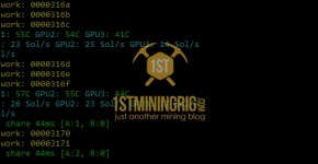 GTX 1070 Ti Bitcoin Gold Equihash-BTG Mining Hashrate