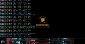 Gigabyte GTX 1070 Ti T-Rex 0.5.1 HSR Algorithm Mining Hashrate