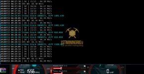 Gigabyte GTX 1070 Ti T-Rex 0.5.1 Tribus Algorithm Mining Hashrate