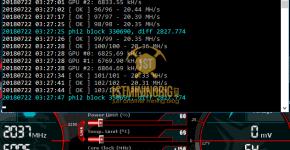 MSI GTX 1080 Ti T-Rex 0.5.1 PHI2 Mining Hashrate