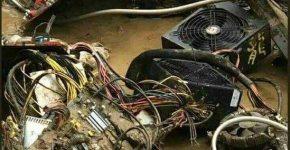 Sichuan mining farm flood 2