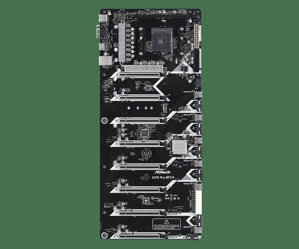 AsRock X370 Pro BTC + (L1) PCI-e Lanes