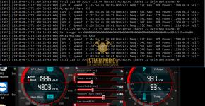 Gigabyte GTX 1070 Bminer Equihash 144.5 Bitcoin Gold Mining Hashrate