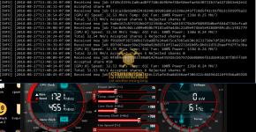 Gigabyte GTX 1070 Ti Bminer Ethash Ethereum Mining Hashrate