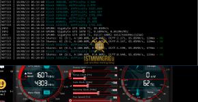 Gigabyte GTX 1070 Ti z-Enemy Tribus DNR Mining Hashrate