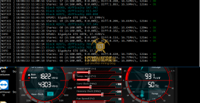 Gigabyte GTX 1070 z-Enemy Renesis RESS Mining Hashrate