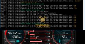 MSI GTX 1080 Ti z-Enemy Aergo AEX Mining Hashrate