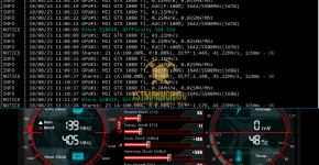 MSI GTX 1080 Ti z-Enemy POLY Mining Hashrate