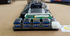 Rebtech Mining Motherboard 8 x PCIex via USB3.0 Connectors