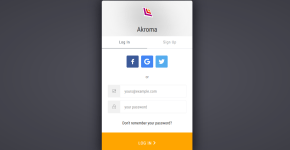 Akroma Account Creation