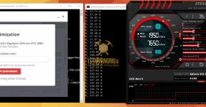 Gigabyte RTX 2080 NiceHash Mining Hashrate Benchmarks 1