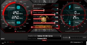 RX 580 8GB Monero CryptoNightV8 Mining Hashrate with XMR Aeon Stak Miner