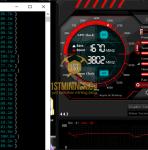 GTX 1060 6GB ProgPow Mining Hashrate TDP 90% Stock Clocks