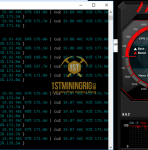 GTX 1080 Ti ProgPow Mining Hashrate TDP 70% with Overclock