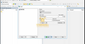 WinSCP BlackMiner F1+ Connection