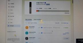 ledger live app manager