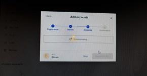 ledger live install new accounts