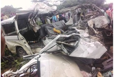 Mother, Daughter Burnt To Death In Bus Accident Along Lagos-Ibadan Expressway