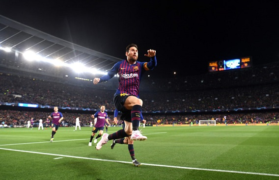 Messi becomes first player to win Europe's Golden Shoe award for three straight years