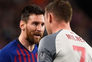 Messi called Milner 'donkey' during Liverpool loss