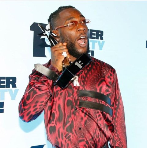 Image result for burna boy brit awards
