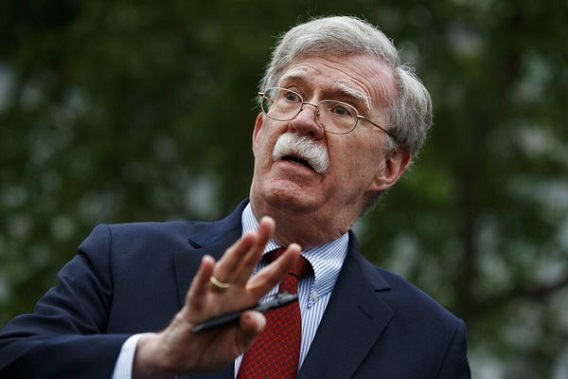 Trump fires national security adviser; John Bolton says he resigned