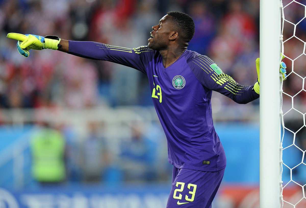 Uzoho: Super Eagles keeper faces lengthy lay-off after injury in Brazil friendly