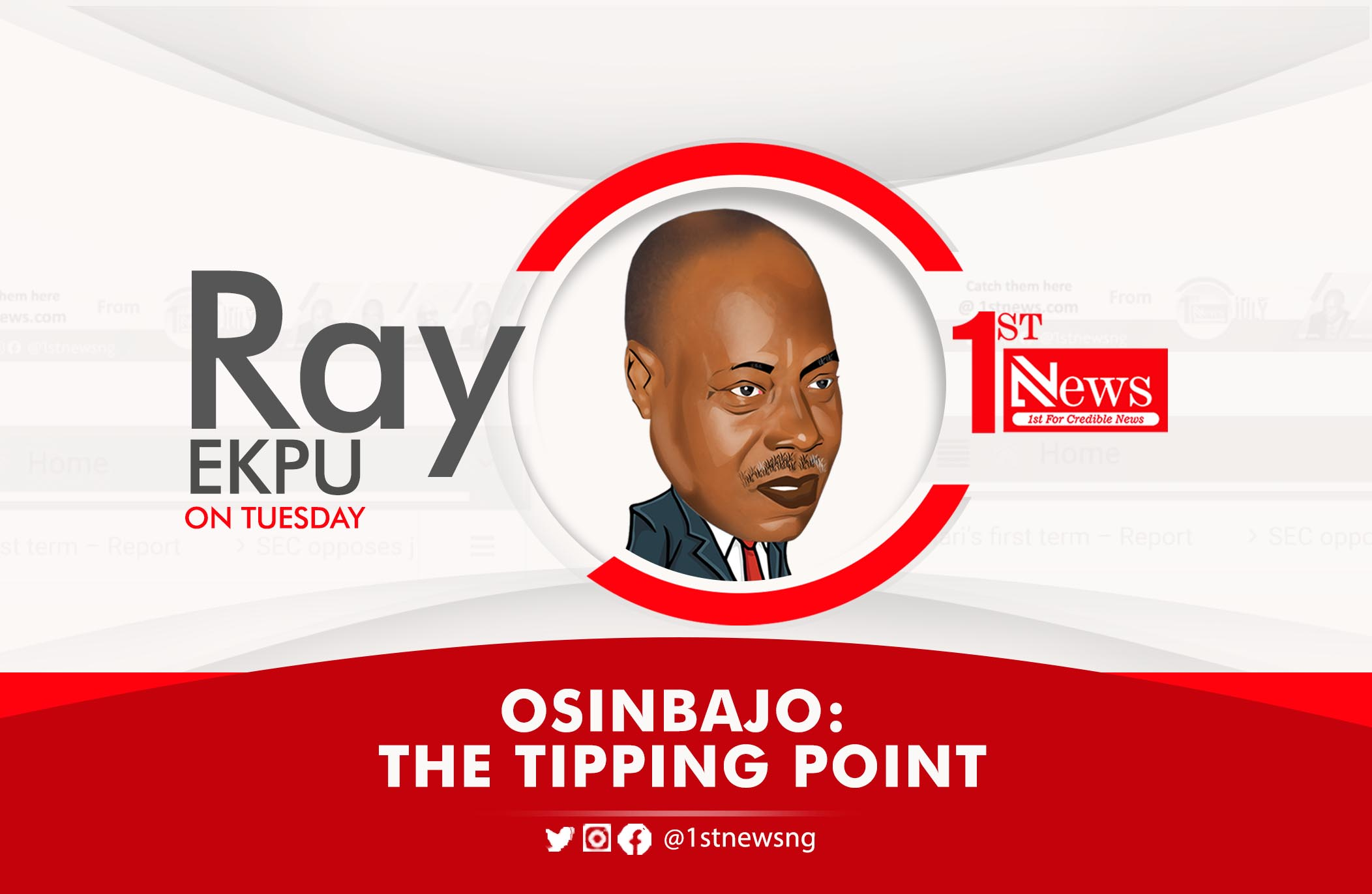 OSINBAJO: The tipping point – Ray Ekpu