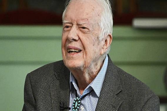 US ex-president Jimmy Carter taken to hospital after brain bleed