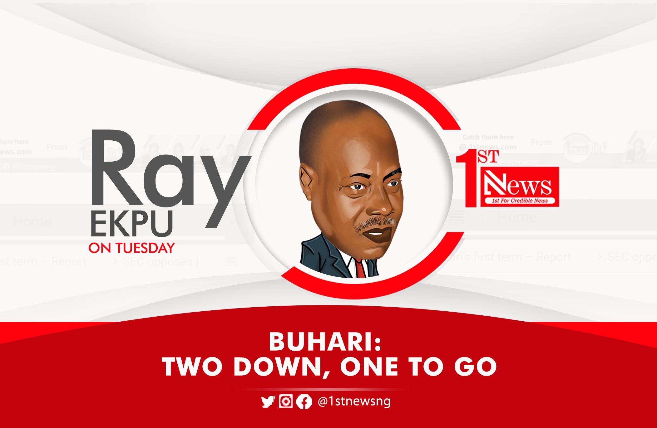 Buhari: Two down, one to Go – Ray Ekpu