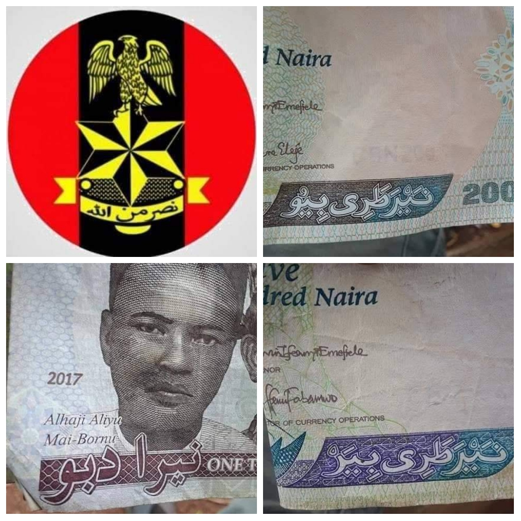Lawyer drags FG to court, demands removal of Arabic inscriptions on Naira, Army logo