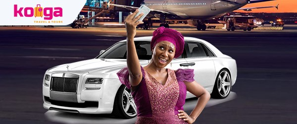Konga Travel unveils new promo, offers customers chauffeur-driven ride to airport in Rolls Royce