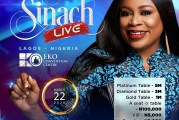Sinach to shut down Eko Hotel with annual mega gospel concert