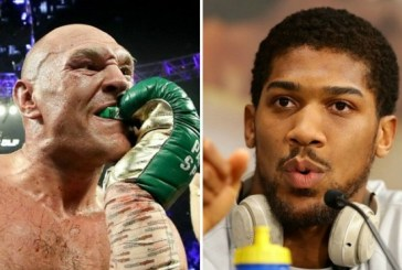 Anthony Joshua: Fury wants boxing showdown