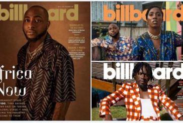 Billboard: Davido, Tiwa Savage, Mr Eazi cover latest edition