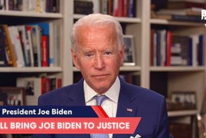 Joe Biden forgets own name, vows to 'bring Joe Biden to justice'