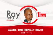 Ayade: Unerringly Right - Ray Ekpu
