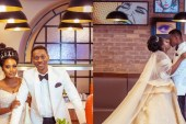 Lateef Adedimeji stuns Nigerians with wedding photos