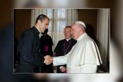 Msgr Gaid ends service as Pope Francis's secretary, as Fr Fabio Salerno takes up post
