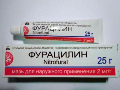 płukanie penisa furacilin)