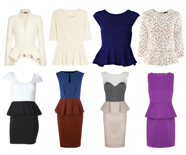 Summer Trend #8: The Peplum