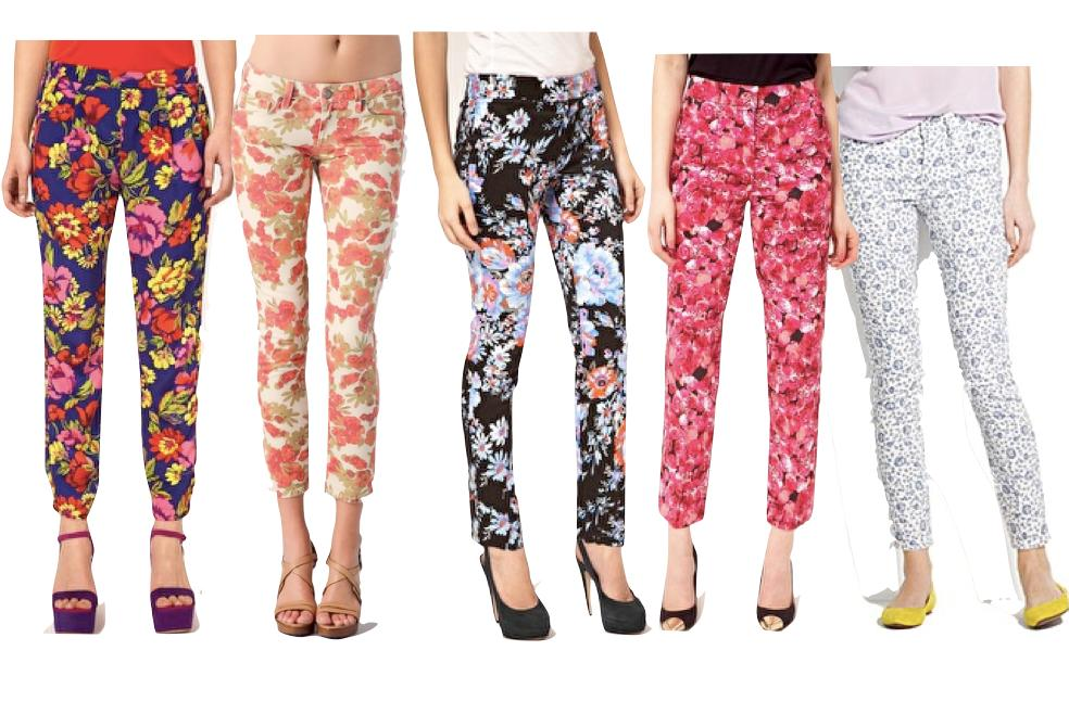 Summer Trend #6: Printed Pants