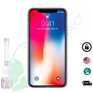 Pre-owned iPhone X 64GB, 256GB