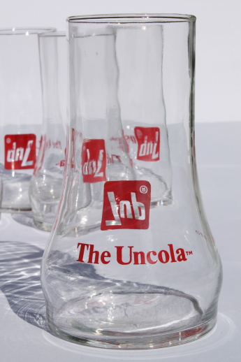 Vintage 7 Up Glasses Retro Upside Down 7 Up The Uncola