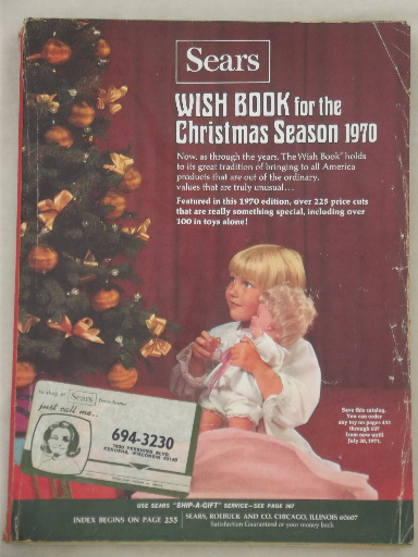 Image result for sears wish book 1970