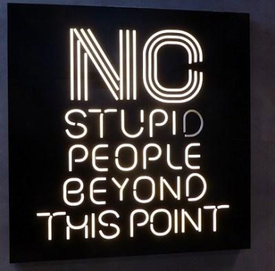 no-stupid-people